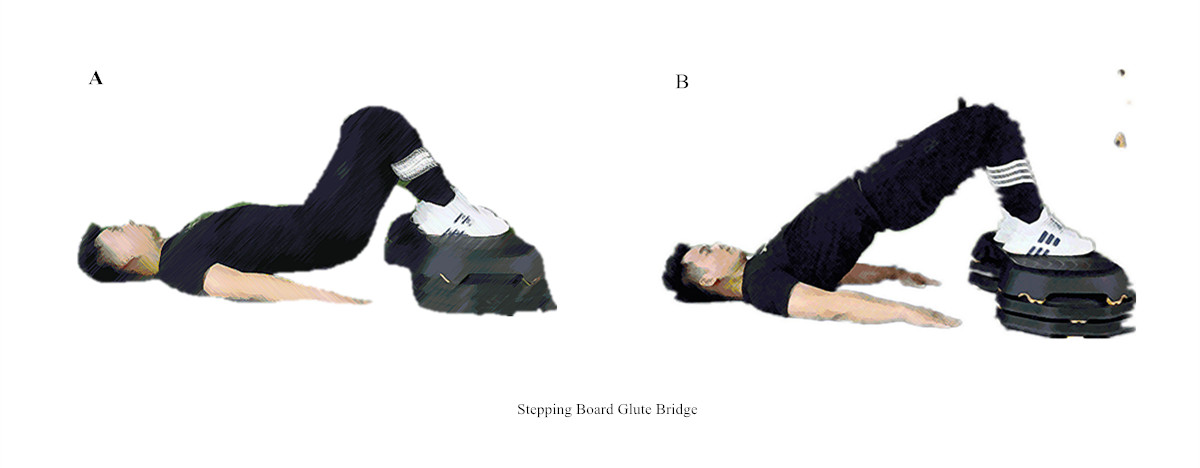 7 Aerobic Exercises with Step Board