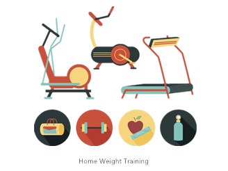 Weight Training Poses for Home Workouts