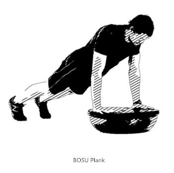 Tone up Balance and Stability with BOSU Ball