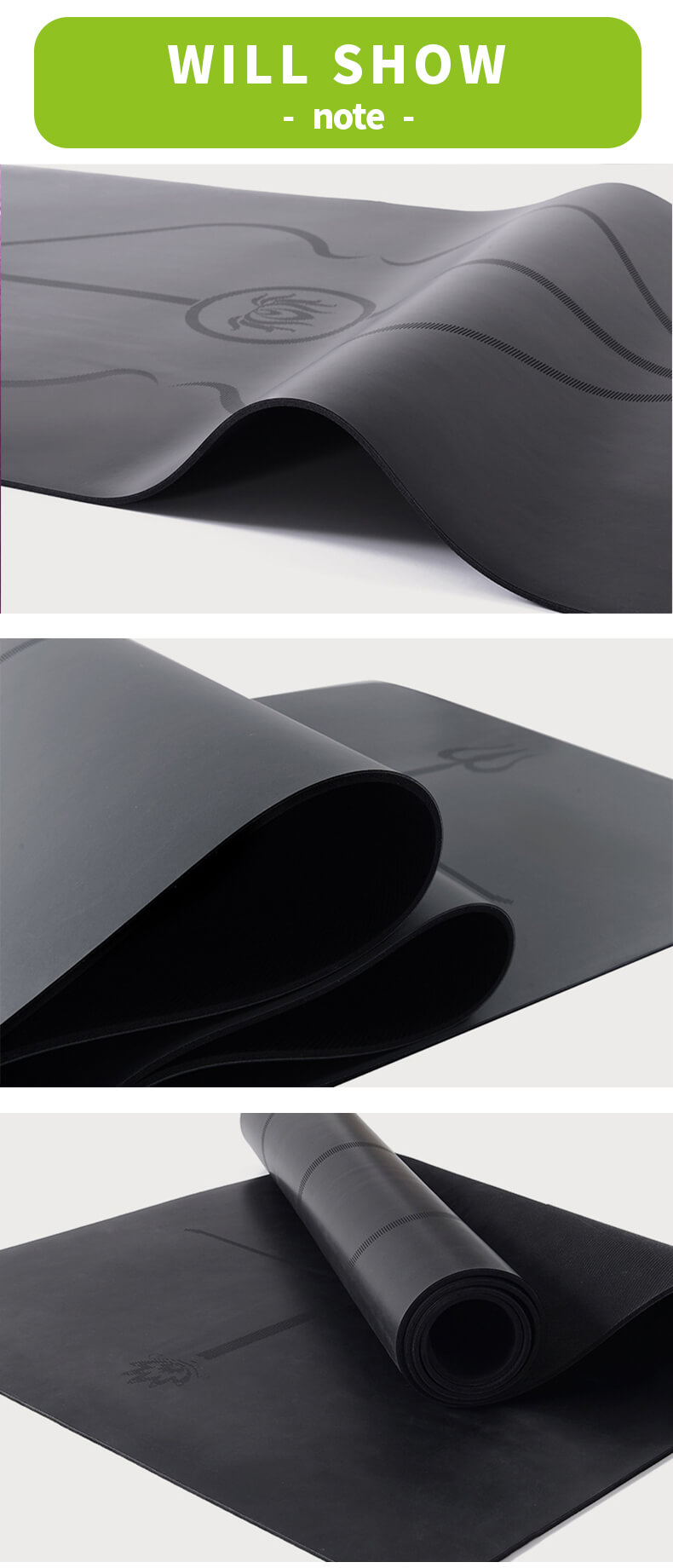 PU Rubber Yoga Mat