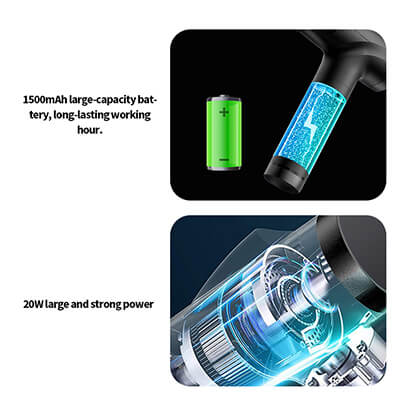 LED Touch Screen Massage Gun