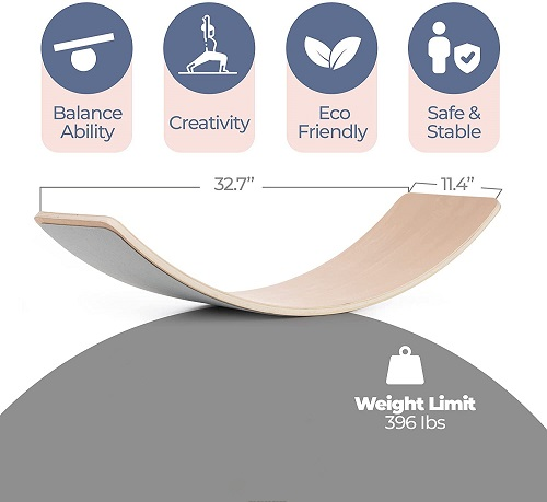 Wholesale Wooden Balance Board  for Kids and Adults