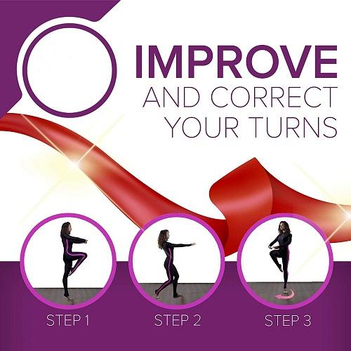 Ballet Dance Turn Pirouette Board New Circle Design Ballet Turning Board Turning Board For Dancer
