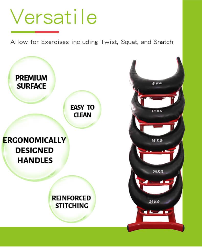 Training Weight Lifting Sandbag Strength Exercise