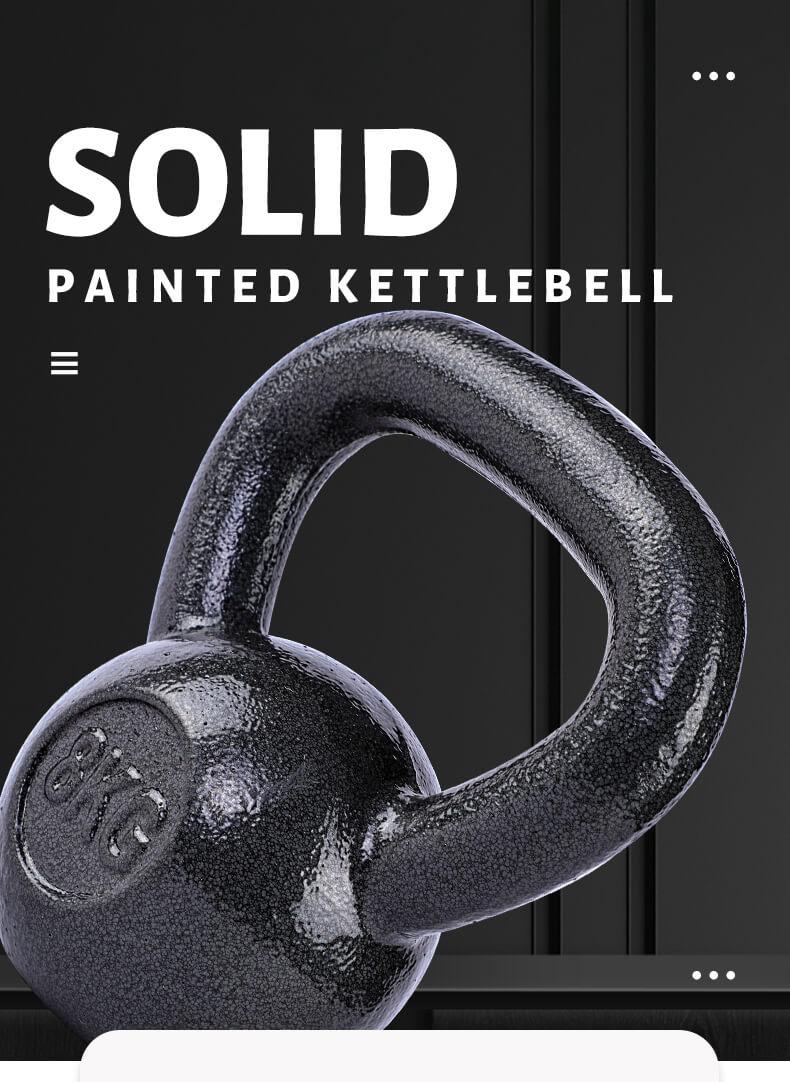 Painted Kettlebell