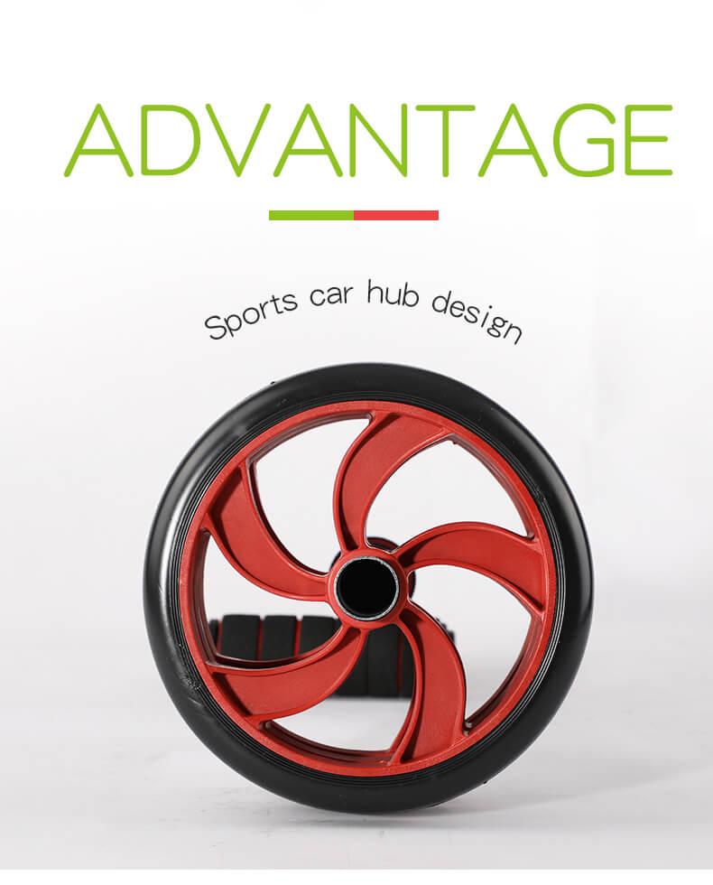 Abdominal Exercise Roller AB Wheel
