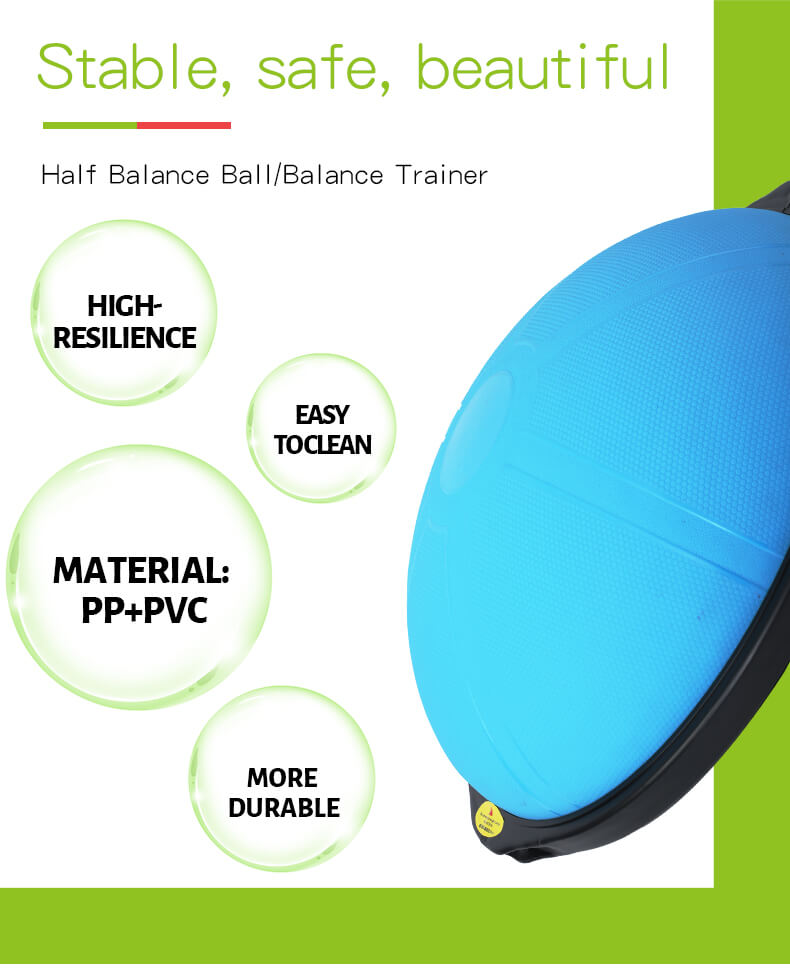 Balance Trainer with Textured Surface