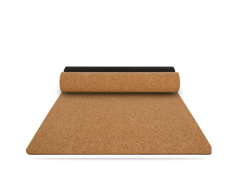 Cork & Natural Rubber Yoga Mat Wholesale