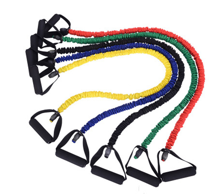 Color Coded Resistance Band Ropes