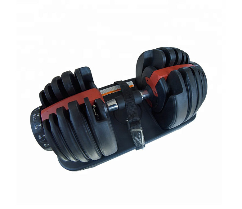 Adjustable Dumbbells with Dial System