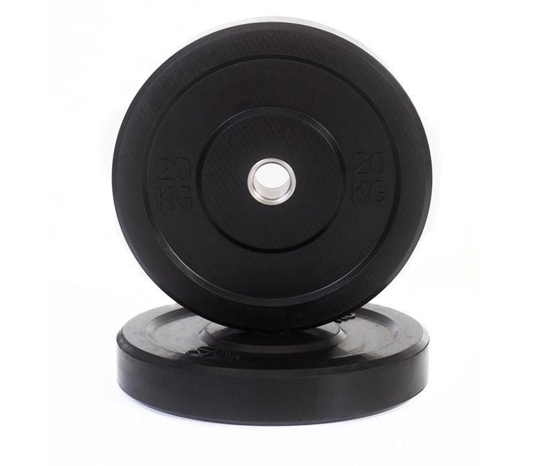 Black Bumper Plates (LB)