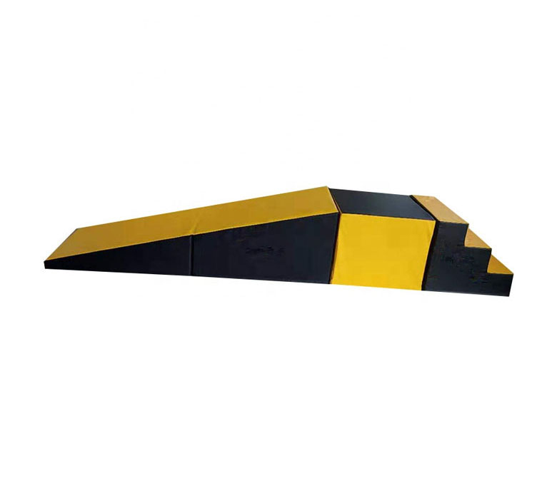Parent-Child Kindergarten Early Education Teaching Aids Platform Sports Combination Slope Step Cuboid Children's Step Board