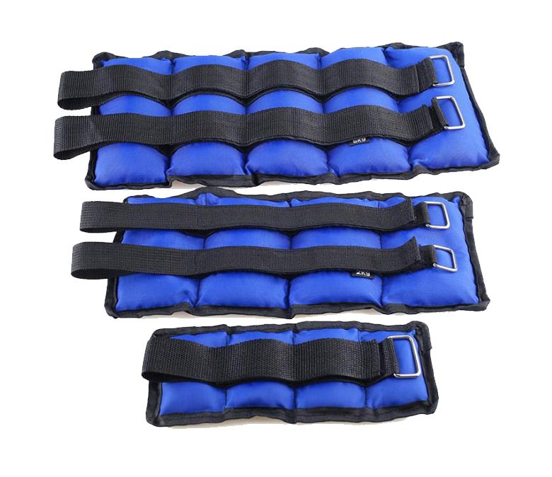 New Design Wholesale Custom Weight 5KG/10KG Adjustable Neoprene Heavy Ankle Weights