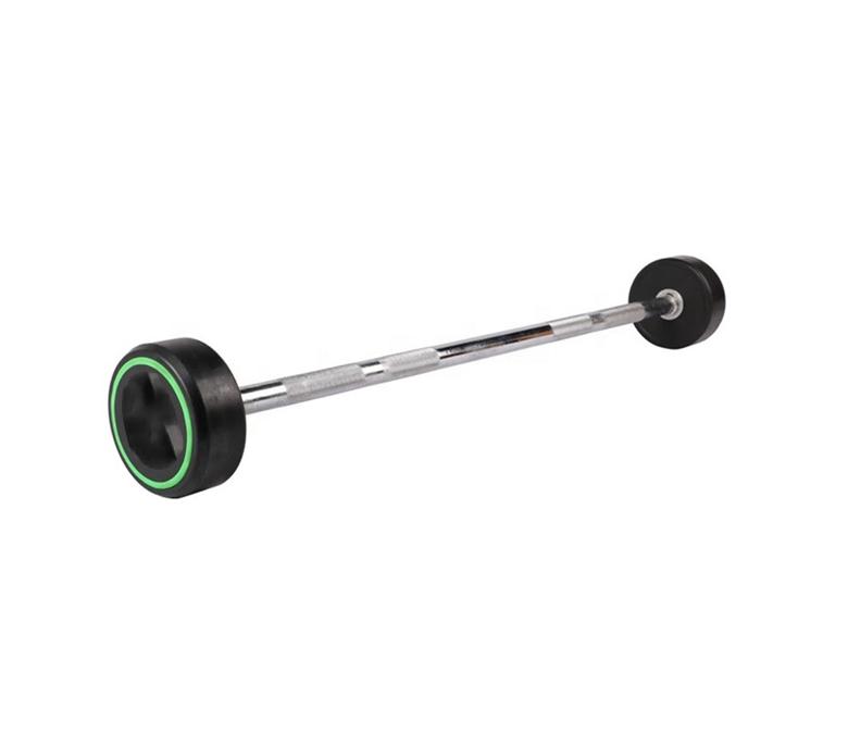 Urethane Fiexed Weight Straight Barbells