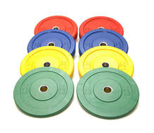 Colored Bumper Plates (LB)