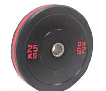 Crumb Bumper Plates with Raised Red Lettering