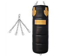 Top Quality Gym Fitness Heavy Punching/Sand Bags Durable Punching Bags PU Leather Punching Bags