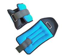 Wrist Ankle Weights with Adjustable Strap Body Fit 1kg 2kg 3kg 4kg