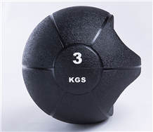 Strength Training Exercise Comfort Textured Grip Rubber Medicine Ball