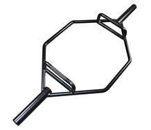 Black Olympic Hexagon Barbell