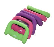 Wholesale neoprene D-Shaped Dumbbells mini dumbbells for women and children