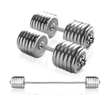 Wholesale Adjustable Weight Steel Dumbbell Barbell Combo Set For Sale