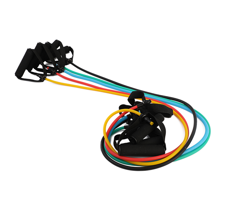 Multiple Color Resistance Tube with Foam Handles