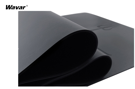 Two different types of rubber material