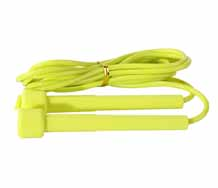 Adjustable PVC Jump Rope With Non-Slip Handles